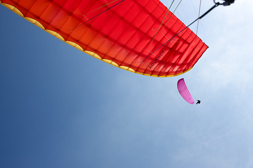 Paragliding by Allerd Roes