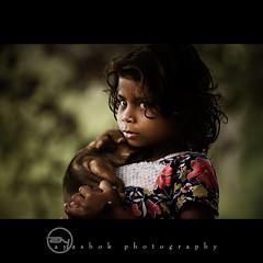 Hey! dont eye on my cute puppy (ayashok photography) Tags: portrait dog pet india eye girl nikon tamilnadu ooty desat d40 ni