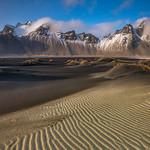 'Rippled Sands & Ridges' - Stokksnes - Mt Vestrahorn, Iceland thumbnail