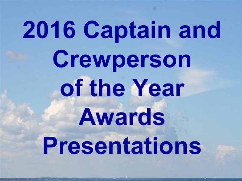 2016 Captain and Crewperson of the Year