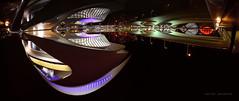 Ciudad de las Artes y las Ciencias de Valencia. (Batide Machado) Tags: sky panoramic panorama water reflexion reflejo agua nocturna nightshot night nocturnal travel traveling ciudaddelasartesylasciencias laciutatdelesartsilesciències valencia españa spain comunidad valenciana comunitat calatrava architecture arquitectura architectural