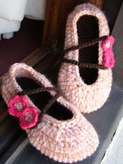 Sapatilha baby slippers Isabela