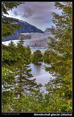 Mendenhall glacier (Alaska) (Juan C Ruiz) Tags: trees lake mountains alaska lagos glacier juneau sitka glaciar mendenhall anawesomeshot concordians