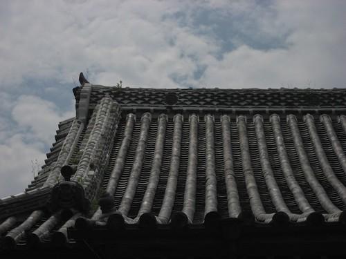 地蔵寺の空