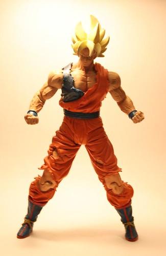 dragon ball z goku super saiyan. Super Saiyan Goku