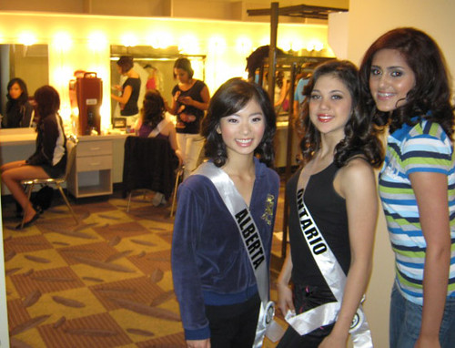 Art and Culture Backstage at Teen Beauty Pageant - Amazines.com Article ...