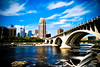 MPLS from St Anthony Main (Micah Taylor) Tags: saint minnesota downtown main minneapolis anthony