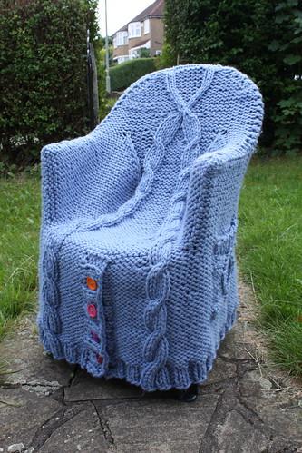 В'язані стільці-крісла