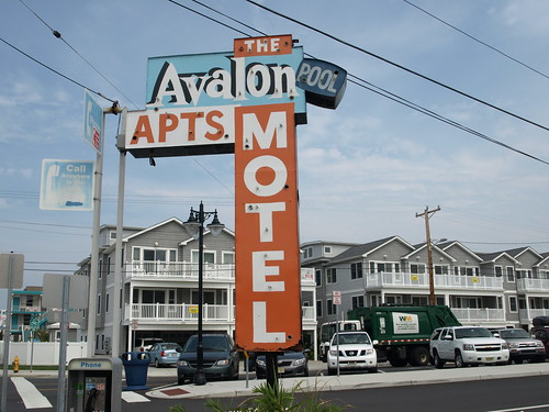 Its the Avalon Motel, so naturally its in North Wildwood