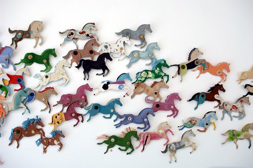 Ann Wood's Cardboard Stampede on Maquette