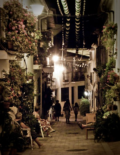 Noche de verano en Benalmádena - Summer night in Benalmadena
