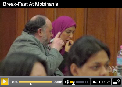 Screen Shot of Break-Fast at Mobinah's