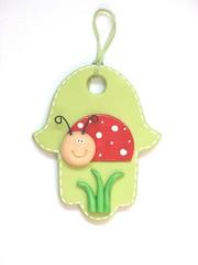 Ladybug (Studio Danale) Tags: boy red green girl kids children room nursery ladybug decor hamsa