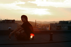$un$et21 (DM) Tags: roof sunset rooftop way relax this is 21 top csepel