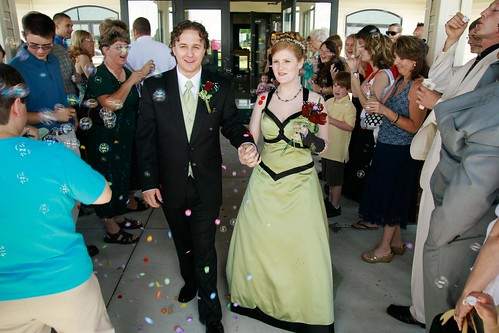Monica and Pauls Traditional Wedding with a Twist: Offbeat Bride