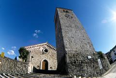 "friuli-chies-e-campanile ""DEDICATED TO ALL MY FLICKR FRIENDS! (mauropaolocascasi) Tags: sun cielo sole architettura controluce friuli campanili chiese"