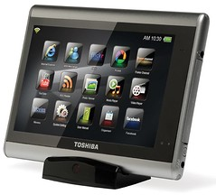 Toshiba's JournE touch multimedia tablet