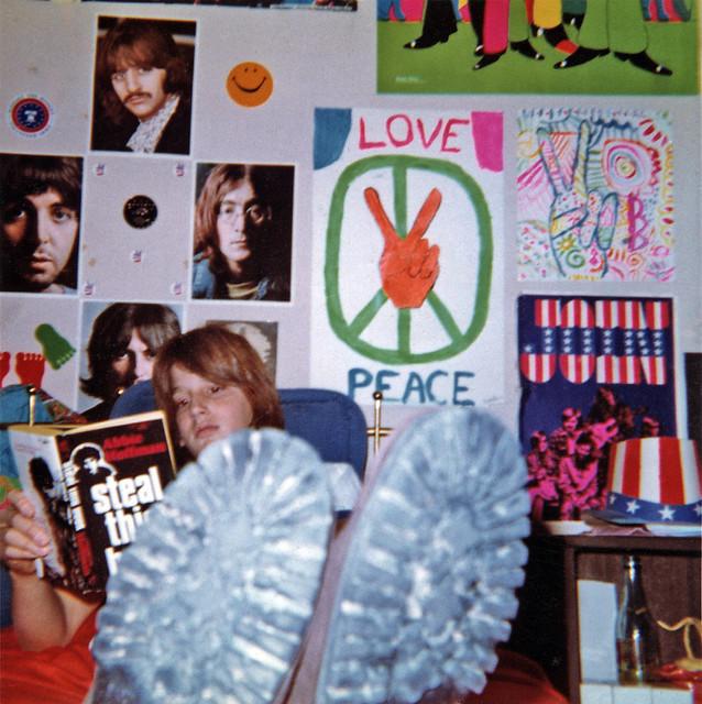 Stevo Bedroom circa 1972