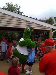 Hanging with the Phanatic