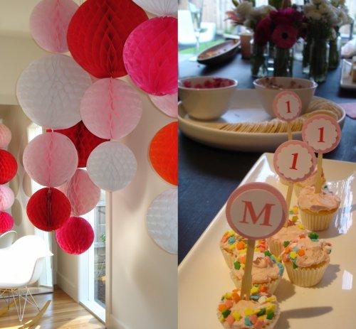 captain kk: happy details. mirka's first birthday party.
