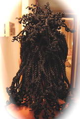 Kinky Twists (mrsjehaan) Tags: black hair beads longhair bob twist shorthair ponytail braids naturalhair weave coils extensions locs shreds afropuff nappyhair crimps dreadlocs microbraids kinkytwist blackhairstyles combtwist scalpbraids