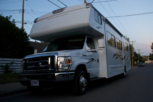 price of rv rental
