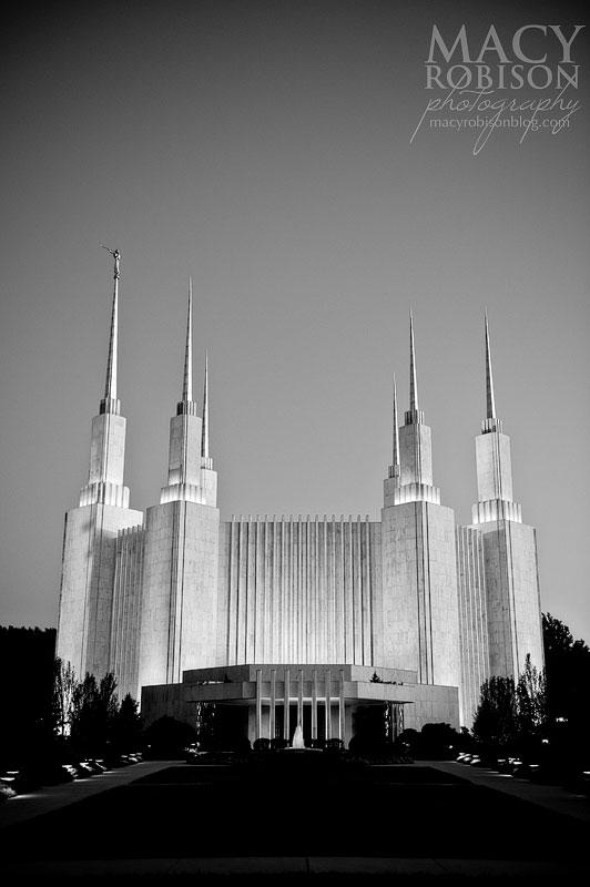 Washington DC LDS Temple Exterior 10