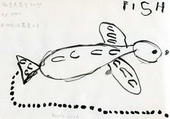 20090812-yoyo畫魚之爸爸魚