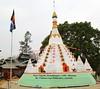 Mizoram Peace Pagoda, Kamalanagar (Bhante Pragya) Tags: pragya chakma mizoram bhikkhu bhante