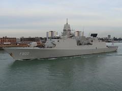 HNLMS De Zeven Provincien (F802) - Frigate