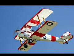 The Tiger Boys' Aeroplane Works OPEN HOUSE 2009: The De Havilland DH.82A Tiger Moth (Paul Cardin (Never Was An Arrow)) Tags: private guelph rcaf madeintoronto guelphairpark cfger dehavillandofcanada thedehavillanddh82tigermoth paulcardin