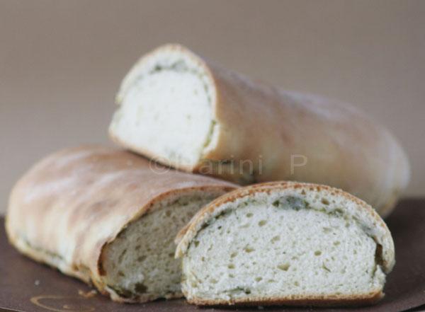 Potato filled bread