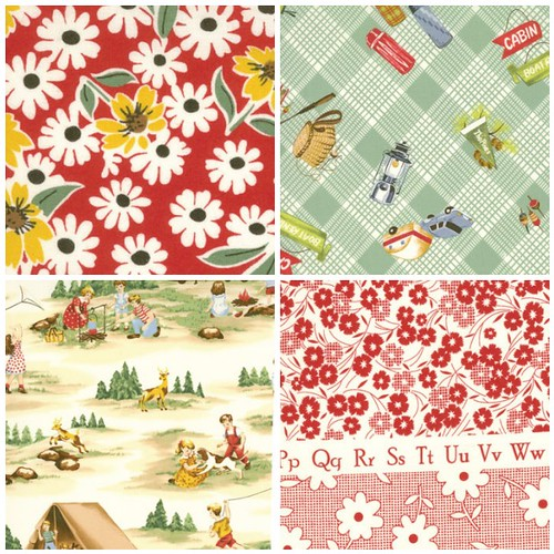 happy campers by american jane for moda bundle