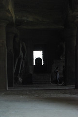Main cave with Lingam