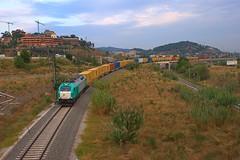 ECR 335.006 El Papiol (Luis Zamora (eldelinux)) Tags: train tren diesel railway via ecr vía teco 335 adif ffcc mercancías mercaderies vossloh elpapiol euro4000 335006