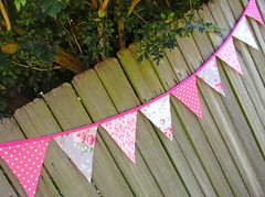 Ava Rose (Tanya Whelan) (giggleberry) Tags: handmade flags garland etsy swag bunting pennants partydecoration roomdecor fabricbanner housedecor giggleberry