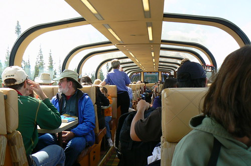 Domed car of the Alaskan Railroad