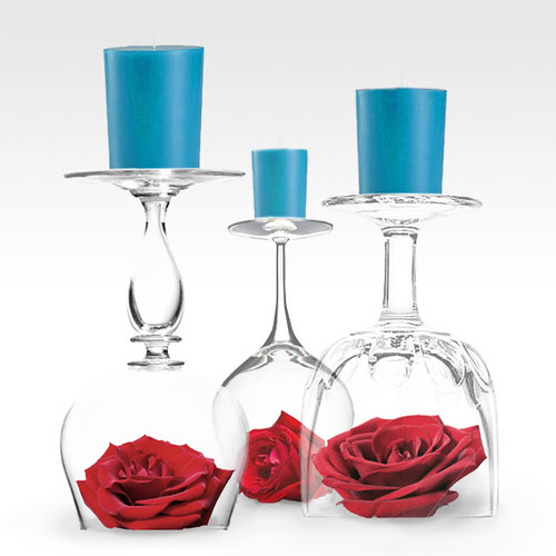 i do' it yourself: quirky centerpieces