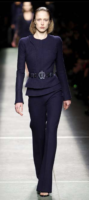 Givenchy pantsuit Fall 2009
