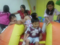 With cousins at fidgets (2)