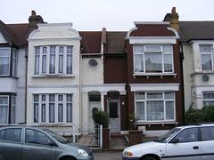Ilford Lane semi-classical 1900 gables. (sludgegulper) Tags: kings seven ilford redbridge