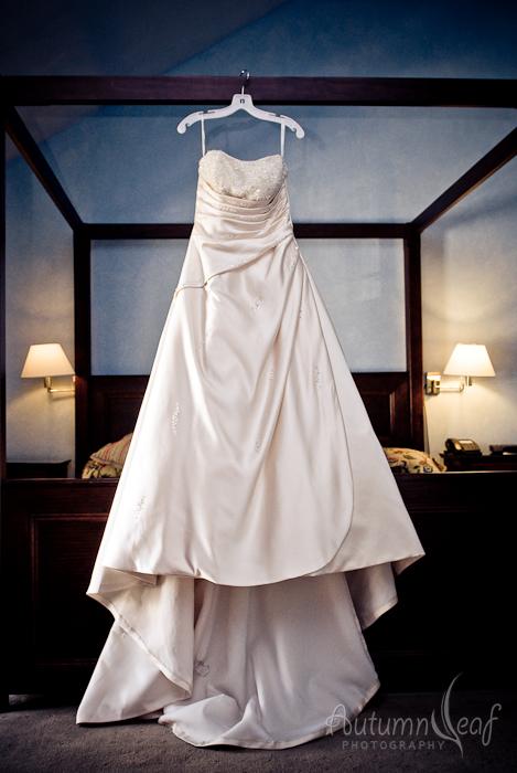 Courtney & Glen - The gown