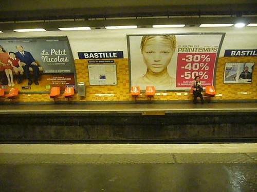 Paris -Métro Bastille
