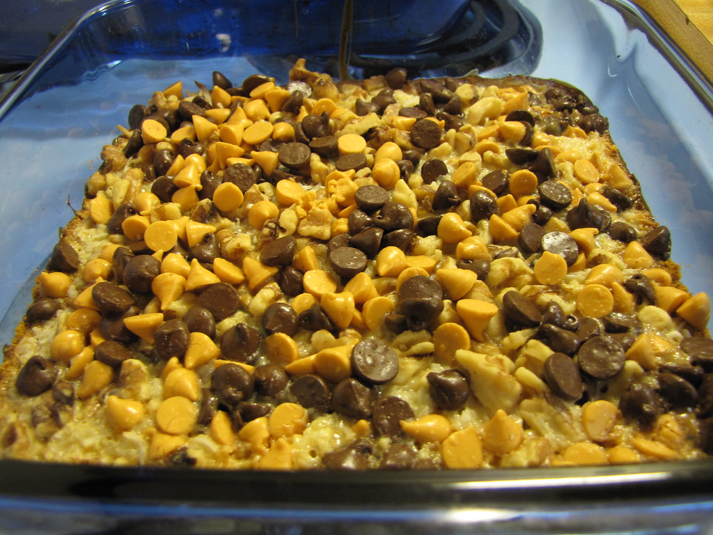 Day #244 - Magic cookie bars