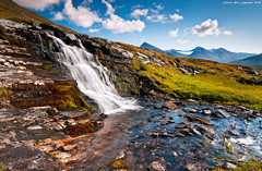 Gisuris waterfall (Rob Orthen) Tags: autumn sky mountain fall landscape waterfall nationalpark nikon rocks europe sweden hiking august rob lee lapland sverige filters scandinavia maisema fjell lappi circularpolarizer syksy kansallispuisto thenorth sarek vesiputous d300 vaellus ruotsi tunturi elokuu nd09 orthen niak nijak gisuris ruohtesvagge gnd09 roborthenphotography tokina1116mm retkiremmi retkiremminet