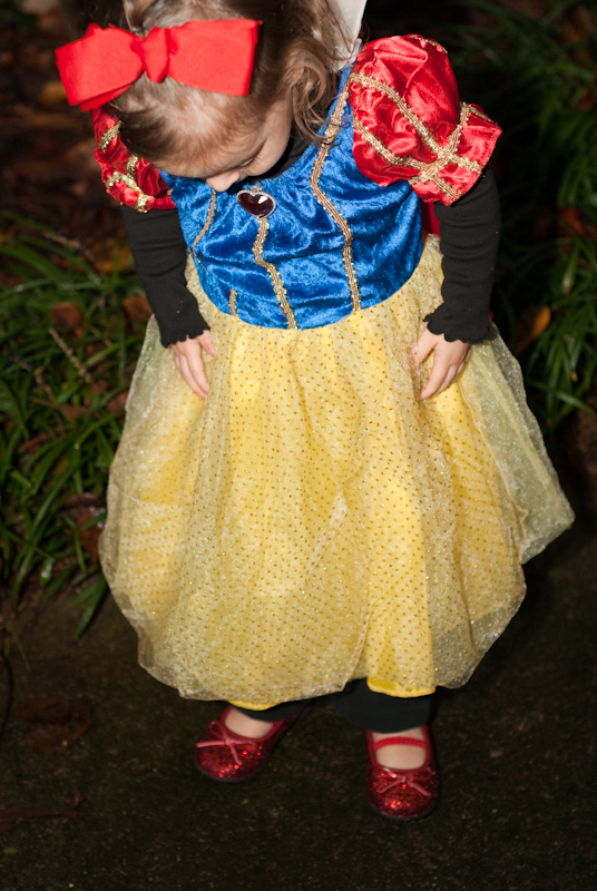 Day 22: Snow White in Ruby Slippers