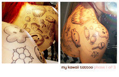 kawaii tattoo (thecuteinstitute) Tags: tattoo ink cupcake tatoo lollipop inked cherryblossomtattoo cutetattoo sweettattoo cupcaketattoo foodtattoo kawaiitattoo candytattoo popsicletattoo donuttattoo