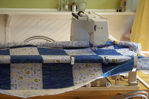 Easy Quilter 3 - quilt in place