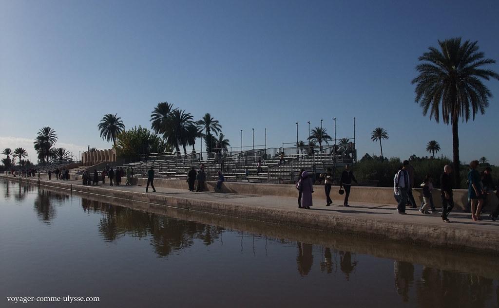 La Ménara etait l'un des rares endroits de Marrakech où les amoureux pouvaient se rencontrer tranquillement