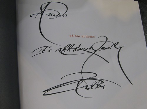 stunningly detailed signature by Thomas Keller Its all about family